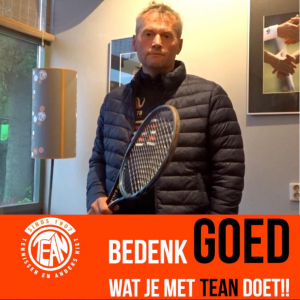 #teaninactie Gertjan Egberink, Hoofdtrainer TEAN